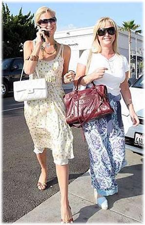 Name Paris Hilton & Mom\'s Bags