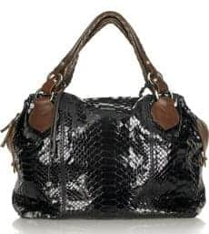 Pauric Sweeney Python Shoulder Bag