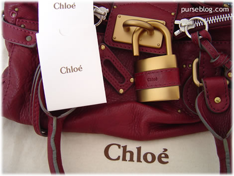 Chloe Paddington Red