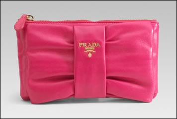 prada nappa mini clutch