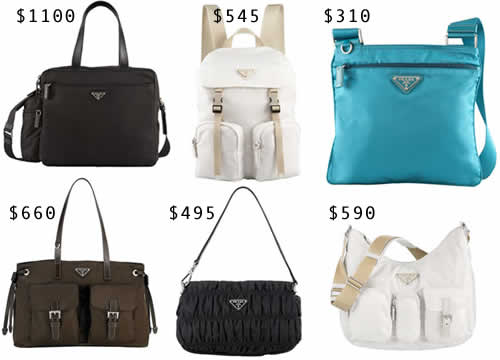 prada handbags prices