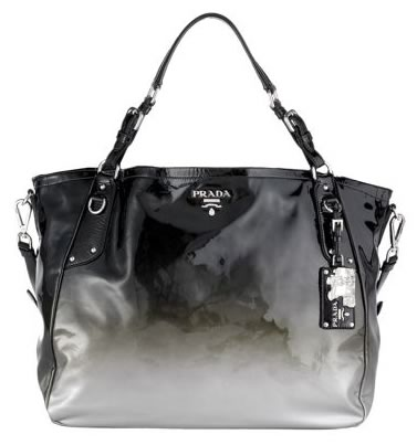prada ombre patent leather tote1