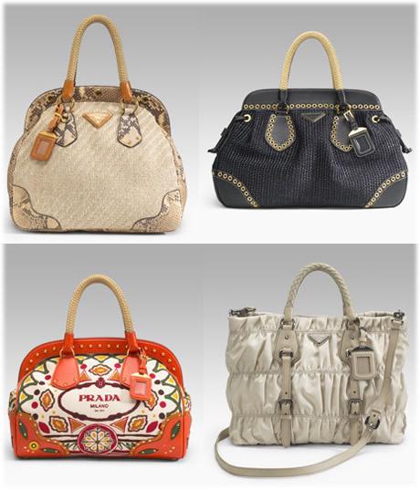 Prada Spring 2007 Handbags