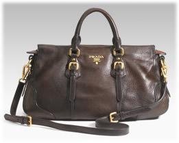 Prada Bag Cervo Satchel