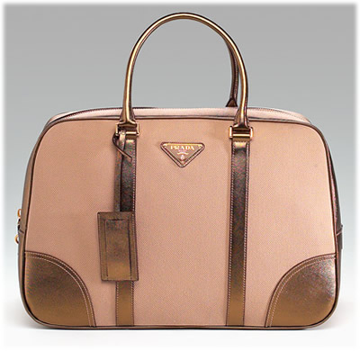 Prada Large Travel Bowler