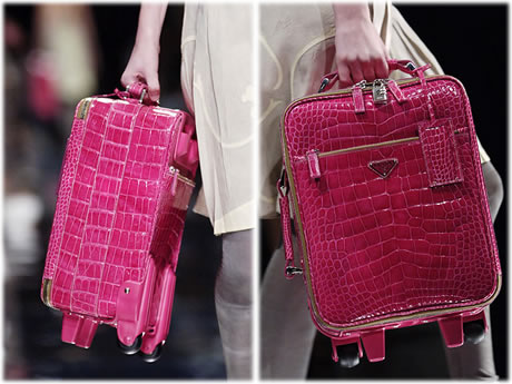 Prada Pink Suitcase
