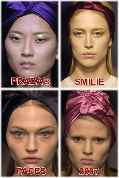 Prada Faces 2007