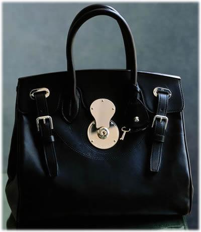 Ralph Lauren Ricky Calfskin Bag