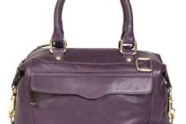 Rebecca Minkoff Morning After Mini in Deep Purple