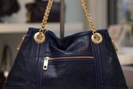 Diane von Furstenberg Hayworth Studded Leather Clutch