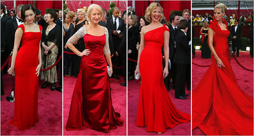 red dresses oscars 2008