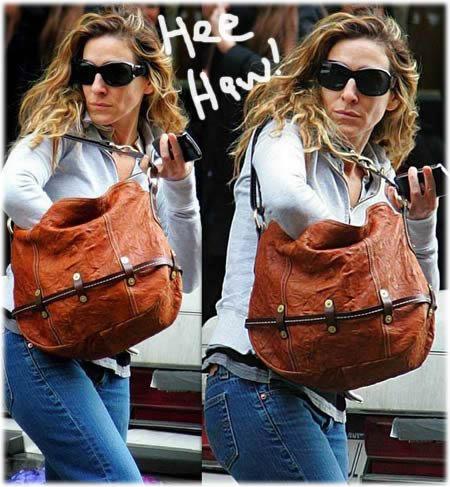 Sarah Jessica Parker Hogan Bag