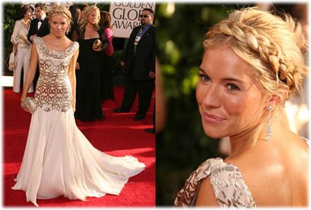 Sienna Miller Golden Globes
