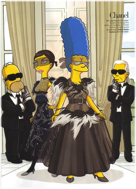 simpsons chanel
