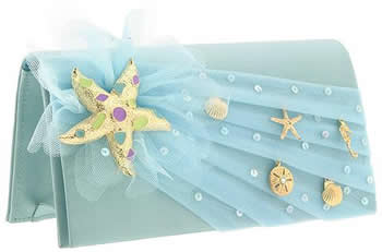 Inge Christopher Starfish Brooch Clutch