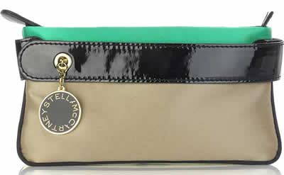 Stella McCartney Color Block Clutch