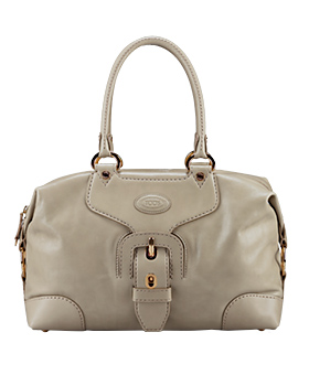 tods carey double strap media bag