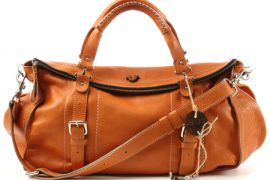 Halston Heritage Night Suede Shoulder Bag
