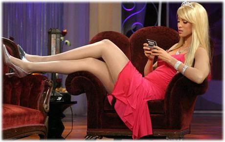 Tyra Banks as Paris Hilton