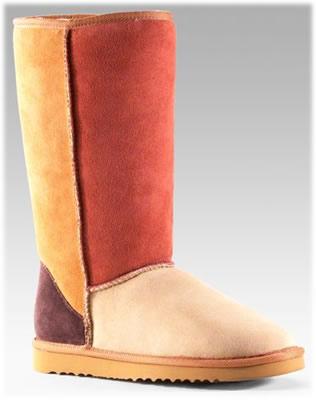 UGG Australia Patchwork Classic Boots