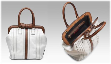 Valentino Tuxedo Nappa Frame Bag