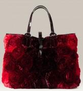 Valentino Floral Applique Satchel