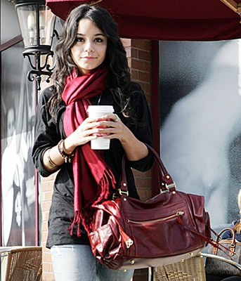 vanessa hudgens rebecca minkoff morning after bag
