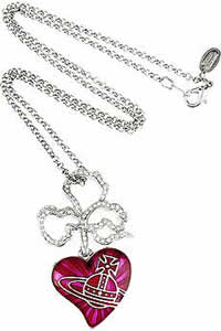 Vivienne Westwood Heart Pendant Necklace