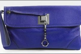 Zac Posen Calen Large Lock Clutch